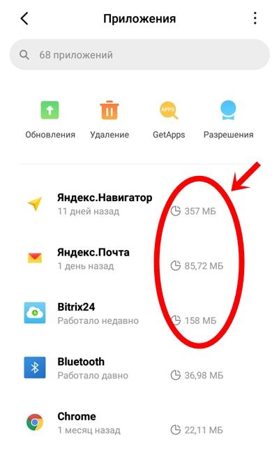 Кэш на Андроиде