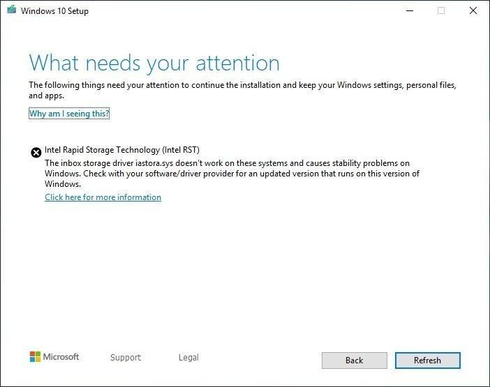 Windows 20h2 ошибка драйверов