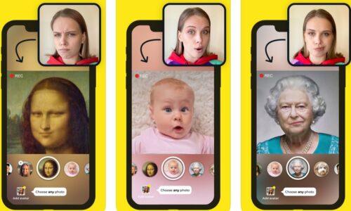 Как называется приложение, где лицо поет и двигается на фотографии