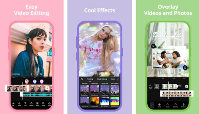 Как называется приложение чтобы сделать видео