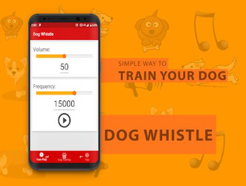 Dog Whistle для подавления лая бродячей собаки